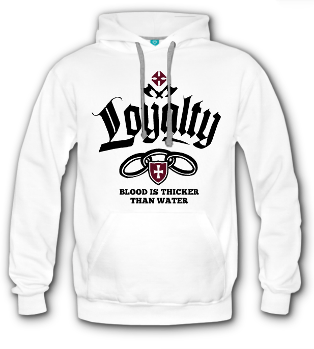 Hoodie Laylaty Blood is Thicker Than Water