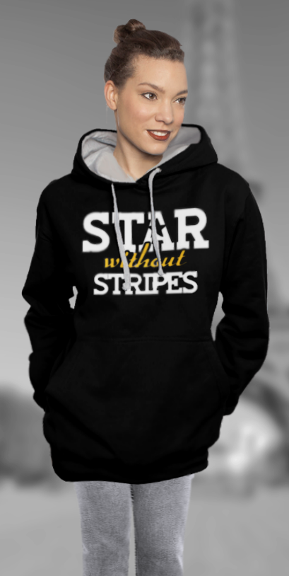 Oversized Hoodie 'Star Without Stripes'